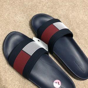 Tommy hilfiger men's sandals slides new